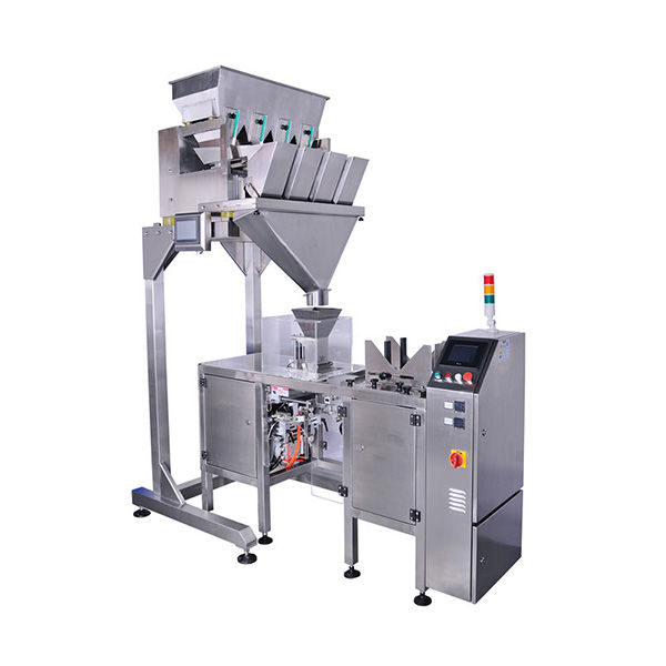multi-heads weigher vertical bagger pouch packing machine | powder filling machine , auger powder filler