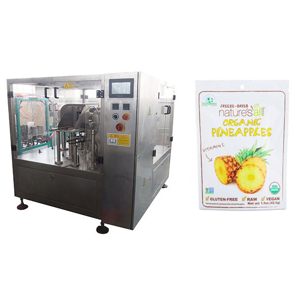rotary table plastic tube filling sealing machine for industry
