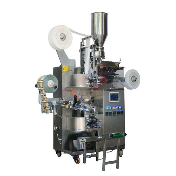 3-side sealed sachet teabag packing machine