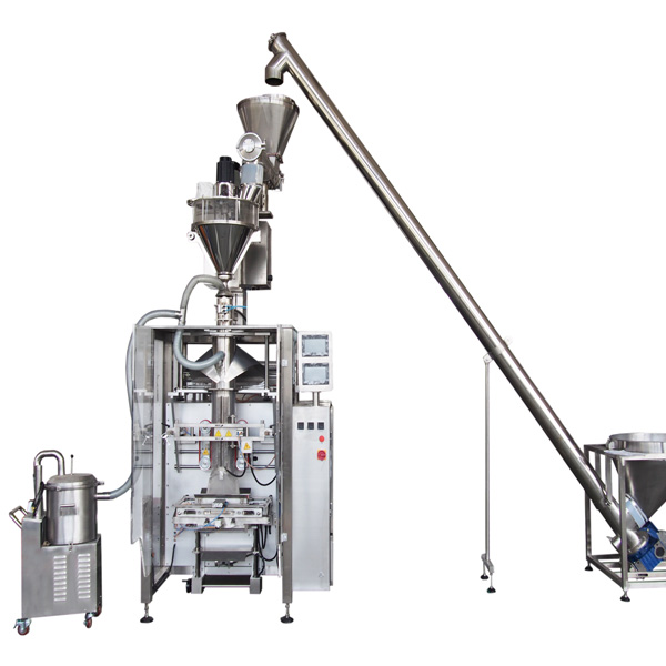 form fill & seal powder pouch packing machine |powder filling machine , auger powder filler