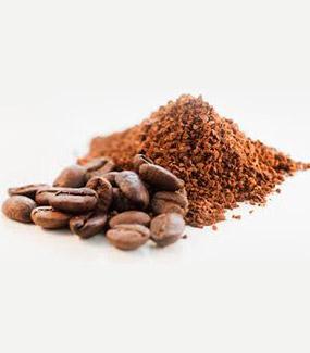 coffee ground powder