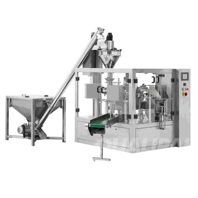 Powder pre-made bag packaging machine